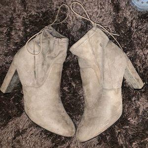 High Heel Ankle Boots Women